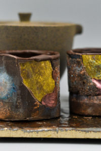 Edible Chocolate Raku Teacups